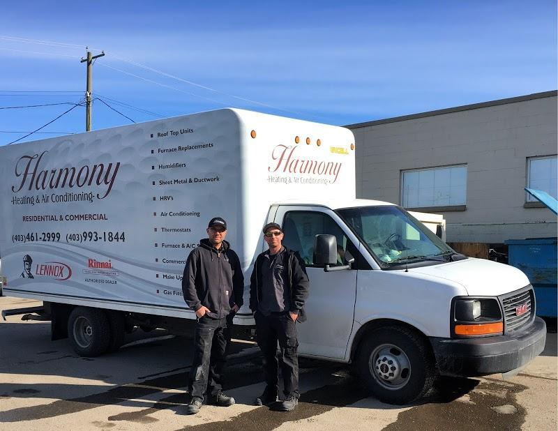 Air Conditionné Harmony Heating & Air Conditioning à Calgary (AB) | LiveWay