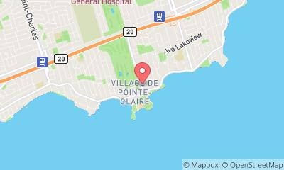 map, Serrurerie Pointe-Claire Locksmith inc.
