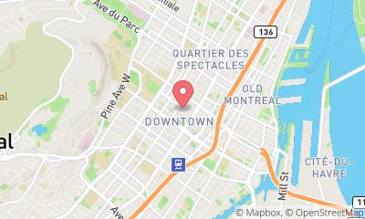 map, The Montreal Cleaners