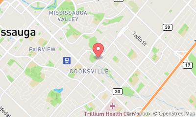 map, Cooksville Emergency Locksmith