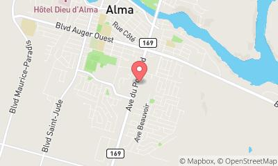 map, Electronics repair shop Boutique Première in Alma (QC) | LiveWay