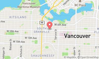 map, Cooper Roofing Vancouver