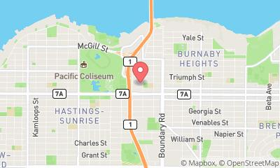 map, Vancouver Roofing Company - All Coast Roofing