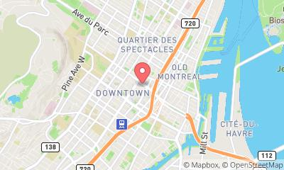 map, Real Estate - Personal Bonnie Meisels - Montreal Real Estate Broker in Montréal (QC) | LiveWay