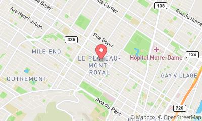 map, CLEANING SERVICES MONTREAL