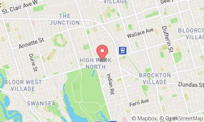 map, Real Estate - Personal Toronto Real Estate Agent / Melissa Emond Remax West Realty in Toronto (ON) | LiveWay