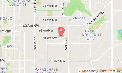 map, Allied Refrigeration and Air Conditioning Inc