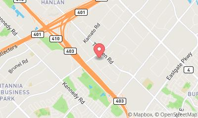 map, Grandmother's Touch Inc. - Mississauga Office Cleaning & Commercial Cleaning Company