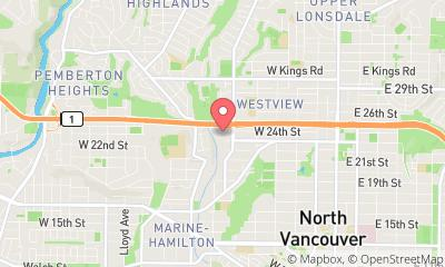 map, Budget & Save Painters North Vancouver